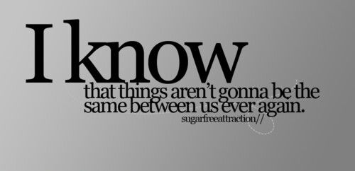 Things Will Never Be The Same Cause Im Broken Pinterest