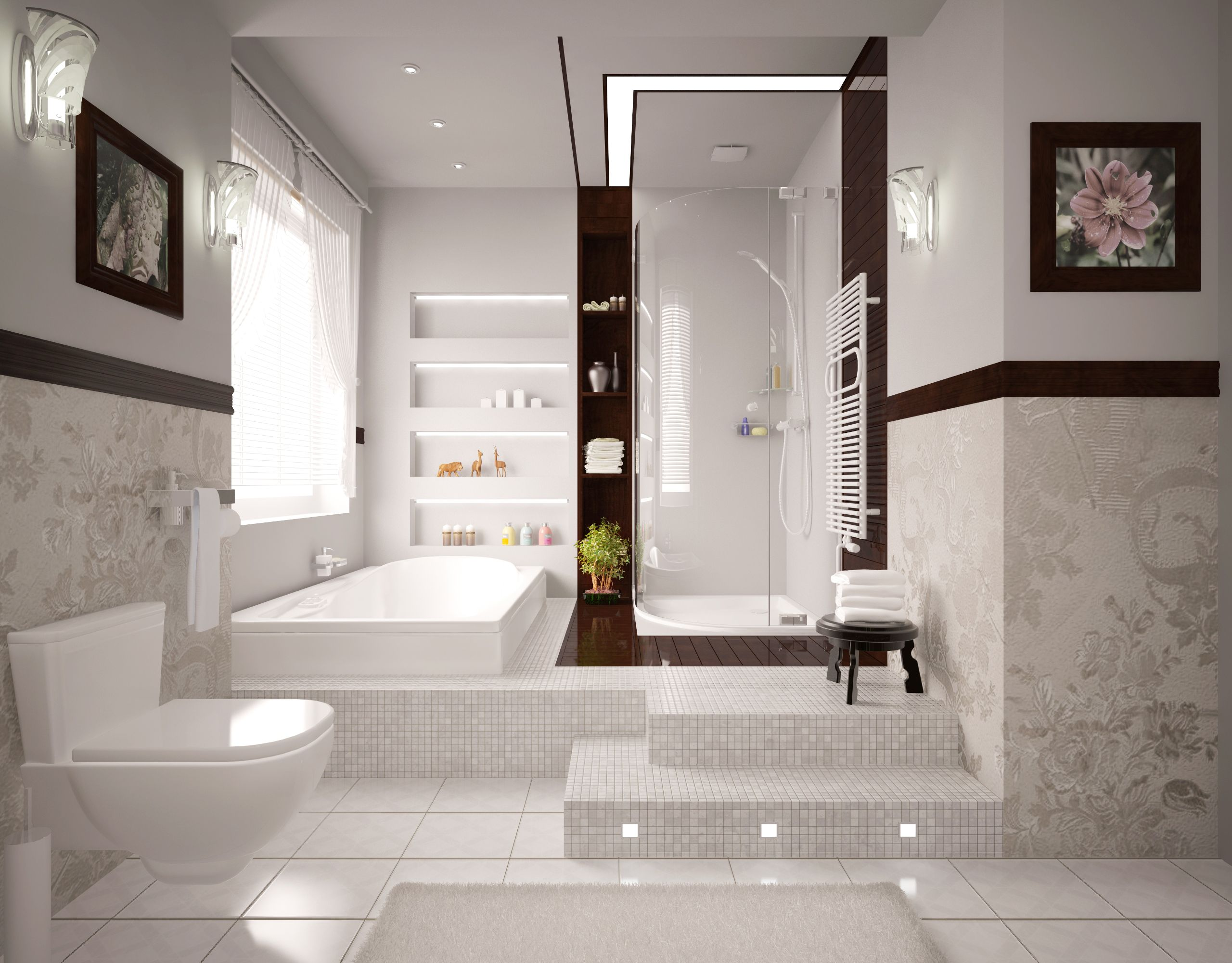 model bathroom design