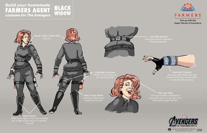 Diy black widow costume diy halloween costumes easy