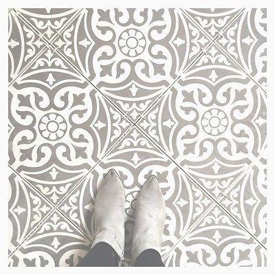 Tile Deals Samples Tweeford Grey Moroccan Victorian Vintage Wall Floor Tiles Ebay Tiled Hallway Kitchen Floor Tile Bathroom Floor Tiles