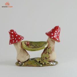 miniaturgarten keramik fleury keramik f r haus und. Black Bedroom Furniture Sets. Home Design Ideas