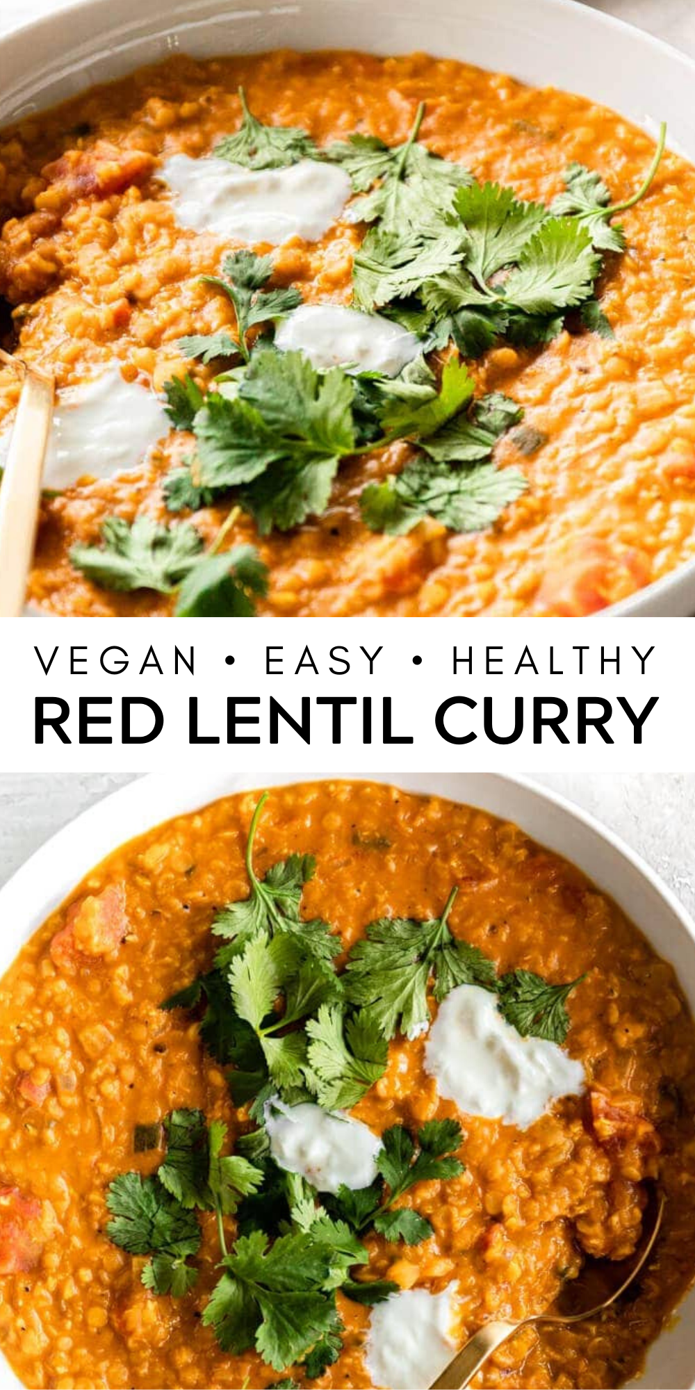 Red Lentil Curry Vegan Easy Delicious Real Vibrant Recipe Lentil Curry Cheap Healthy Lunch Lentil Curry Recipes