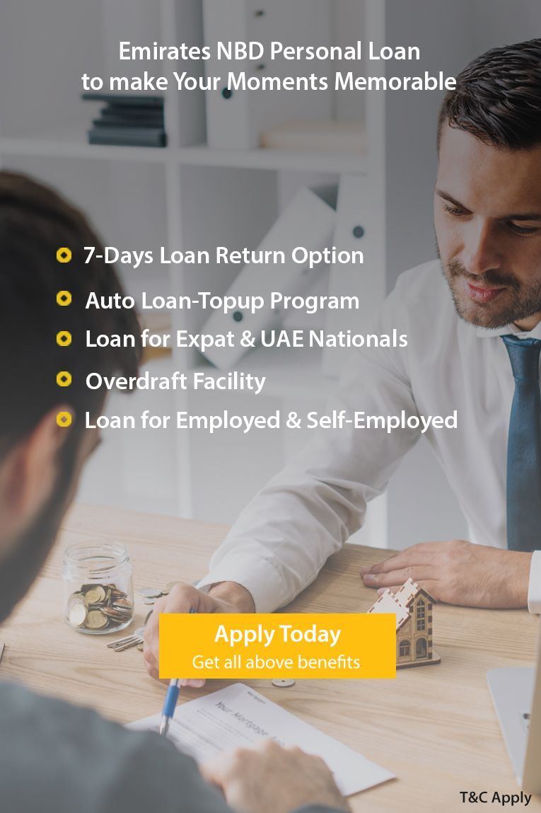Emirates Nbd Personal Loan Offers 7 Day Return Option It Aims To Make Your Moments Memorable Apply Today And Enjoy Personal Loans How To Memorize Things Loan
