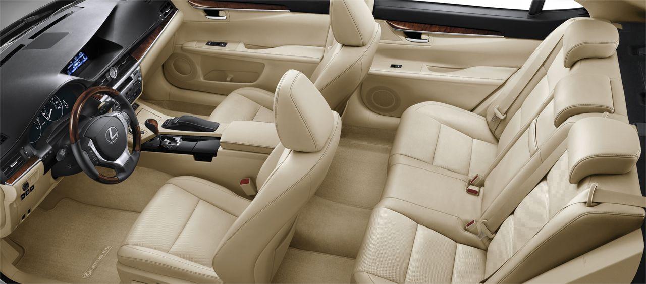 Interior Of 2013 Lexus Es 350 Lexus Es Lexus Luxury Sedan