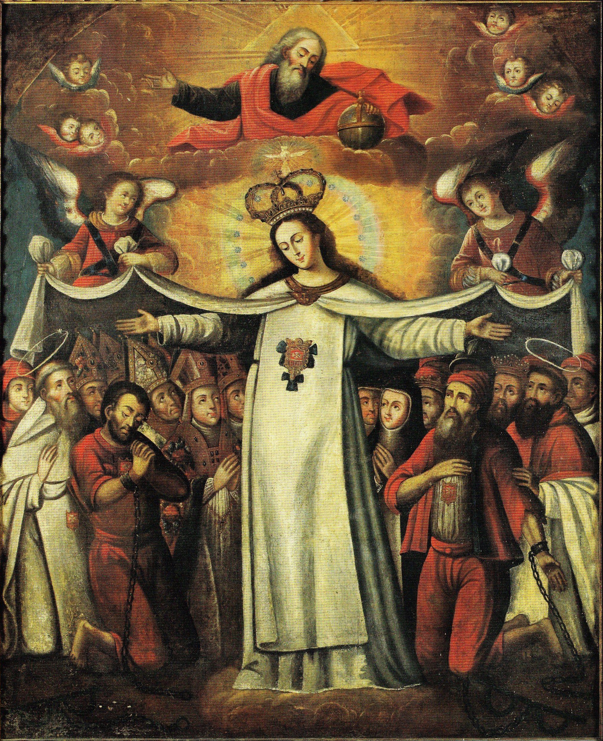 Virgen de la Merced | Virgen de las mercedes, Imágenes de la virgen,  Cordero de dios
