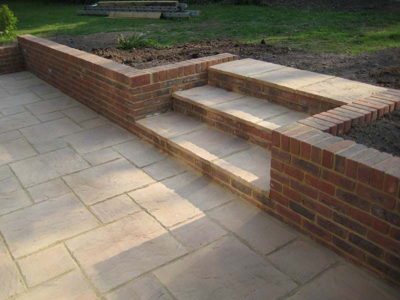 Best Steps C And A Contractors Garden Steps Outdoor Backyard 640 x 480