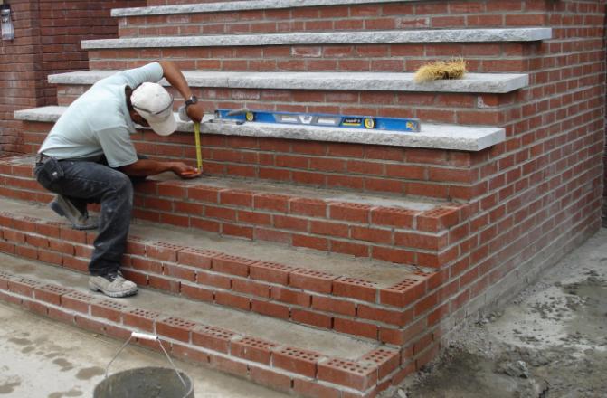Masonry Brick Block Paving Steps Walls Low Cost In 2020 Masonry Block Paving Brick Block