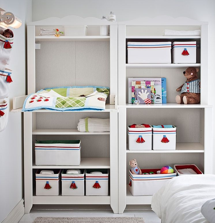 Furniture That Will Grow With Your Baby Is A Good Investment. The HENSVIK  Cabinet Converts