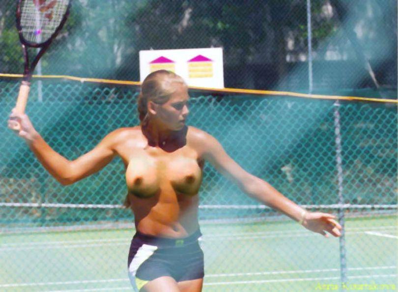 Anna kournikova sexy navel show photo shoot, tennis star anna kournikova photos and wallpapers