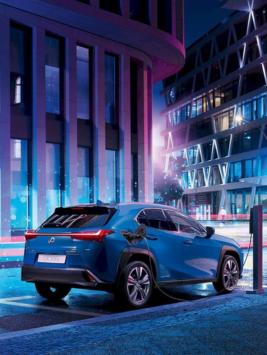 Lexus All Electric Ux 300e Created To Evoke The Original Fun Of Driving In The City In 2020 Lexus New Lexus Electricity