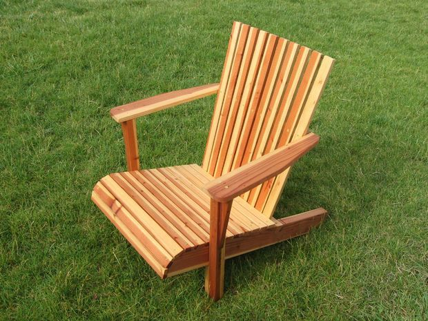 Adirondack Chair From One Board Projects Chair