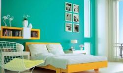 Warna Cat Kamar Tidur Rumah Kayu