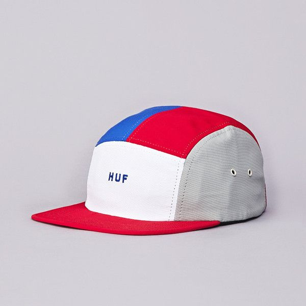 634167de8 Flatspot - Huf Lo-Down 5 Panel Cap Red / White / Blue | Hats | Hats ...