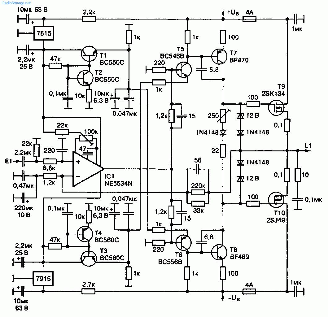 Усилитель своими руками на полевых транзисторах