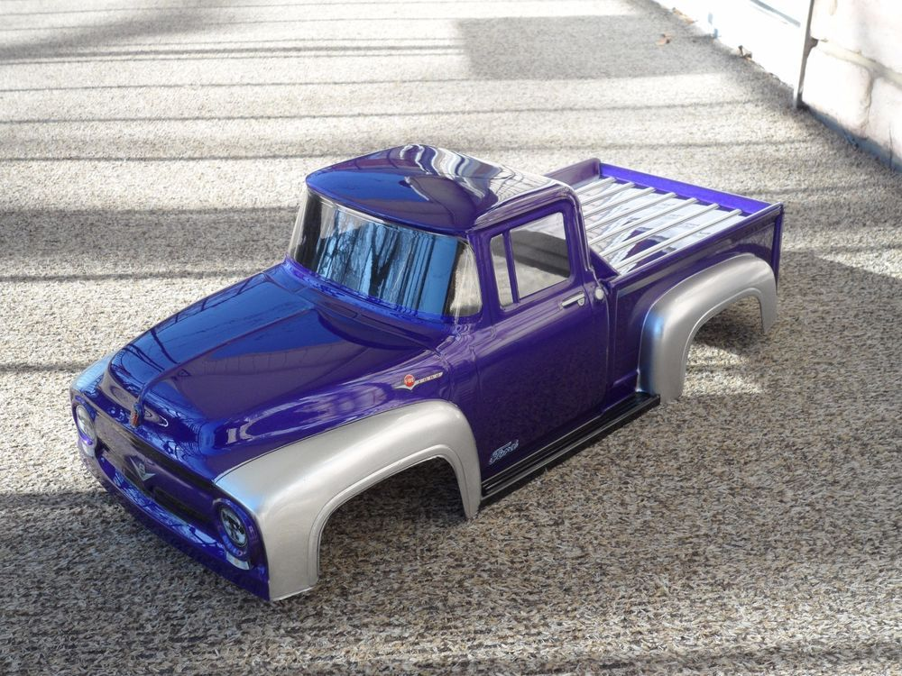 Pro Line 1956 Ford F 100 Truck Body For The Traxxas T E Maxx And Revo 2 5 1956 Ford Truck Traxxas Trucks