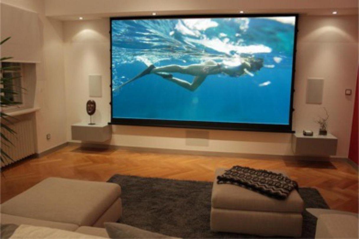 Erstaunlich Wohnzimmer Heimkino Ideen