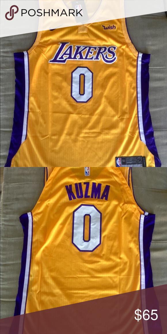 bc80a7d51ec NWT Kyle Kuzma Los Angeles Lakers Jersey Brand new Kyle Kuzma Los Angeles  Lakers Jersey Shirts