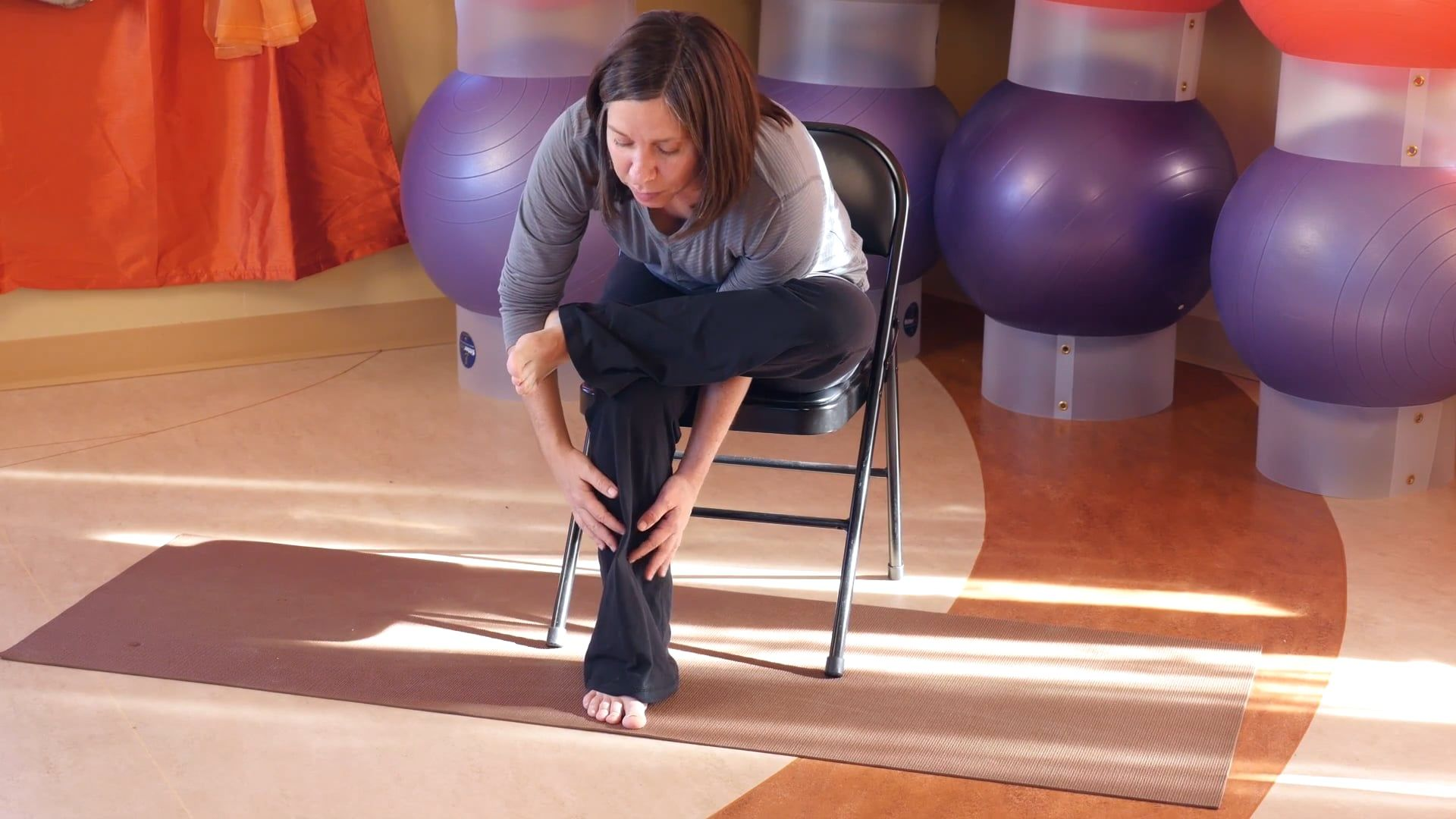 2015.11.08.c Jamine Ackert All Levels Chair Yoga for