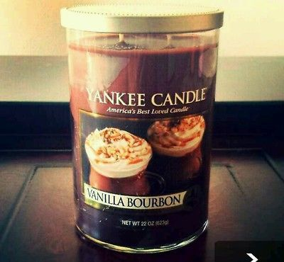 22 oz Rare Vanilla Bourbon Yankee Candle Yankee Candle  Co Candles