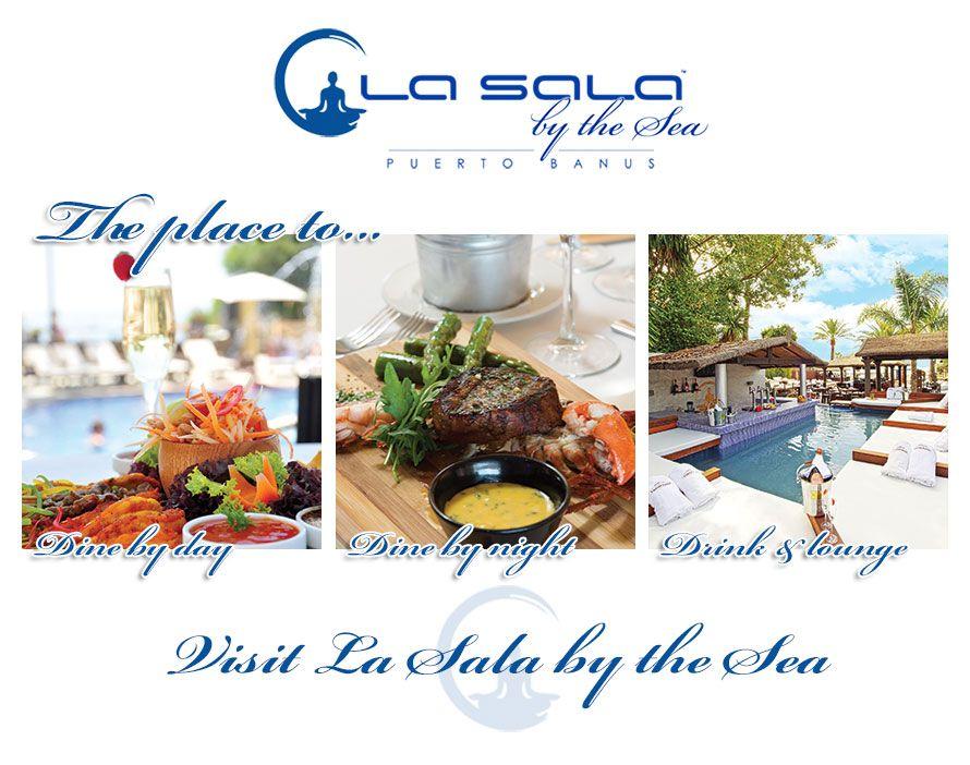 La Sala By The Sea Puerto Banus Marbella Beach Club