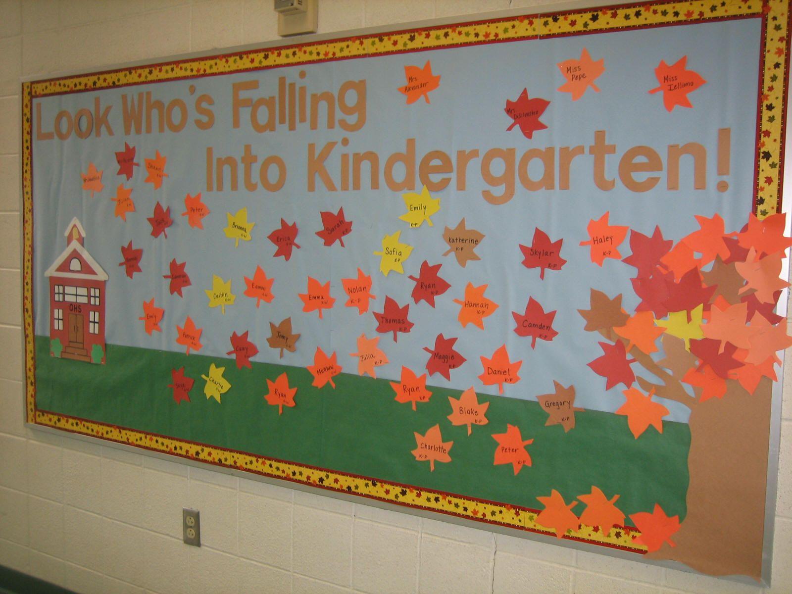 Welcome To Preschool Bulletin Board Ideas
