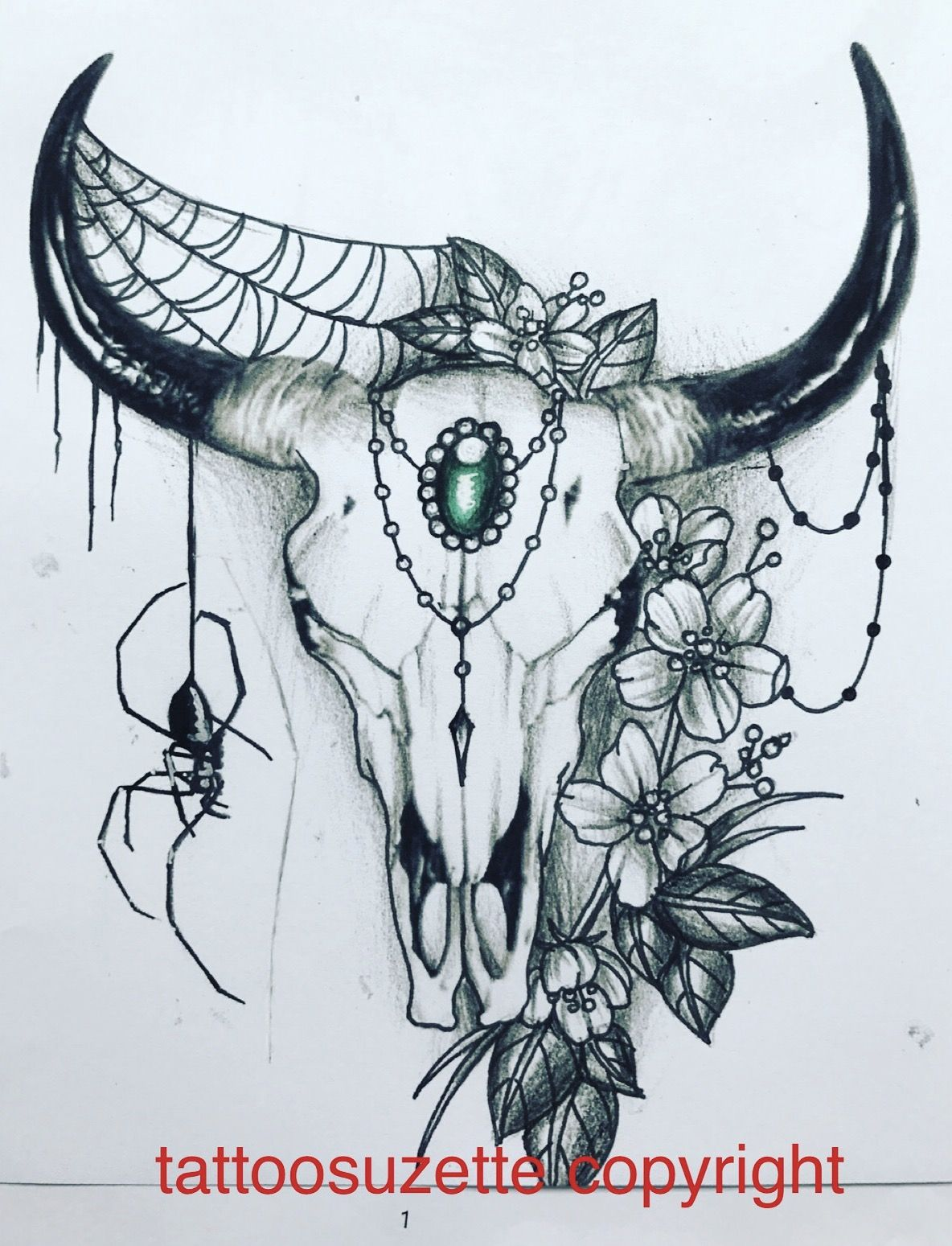 bull skull tattoo design ink pinterest bull skull tattoos rh pinterest com bull skull tattoo meaning bull skull tattoos meaning