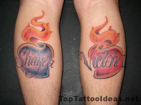 Kids Names Tattoos On Back