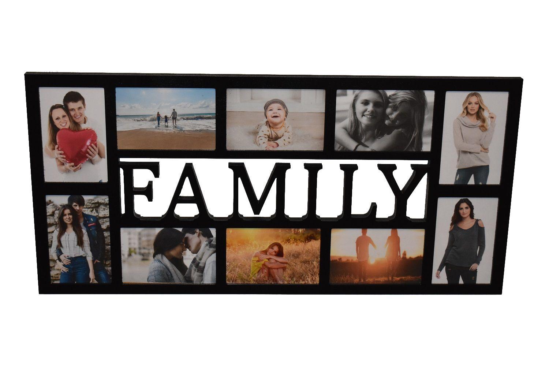 Multirama Ramka Na Zdjecie Z Napisem Family Mdf 10 Zdjec Ramka