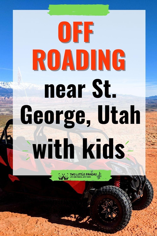 Renting an ATV or UTV near St. Utah in 2020 How