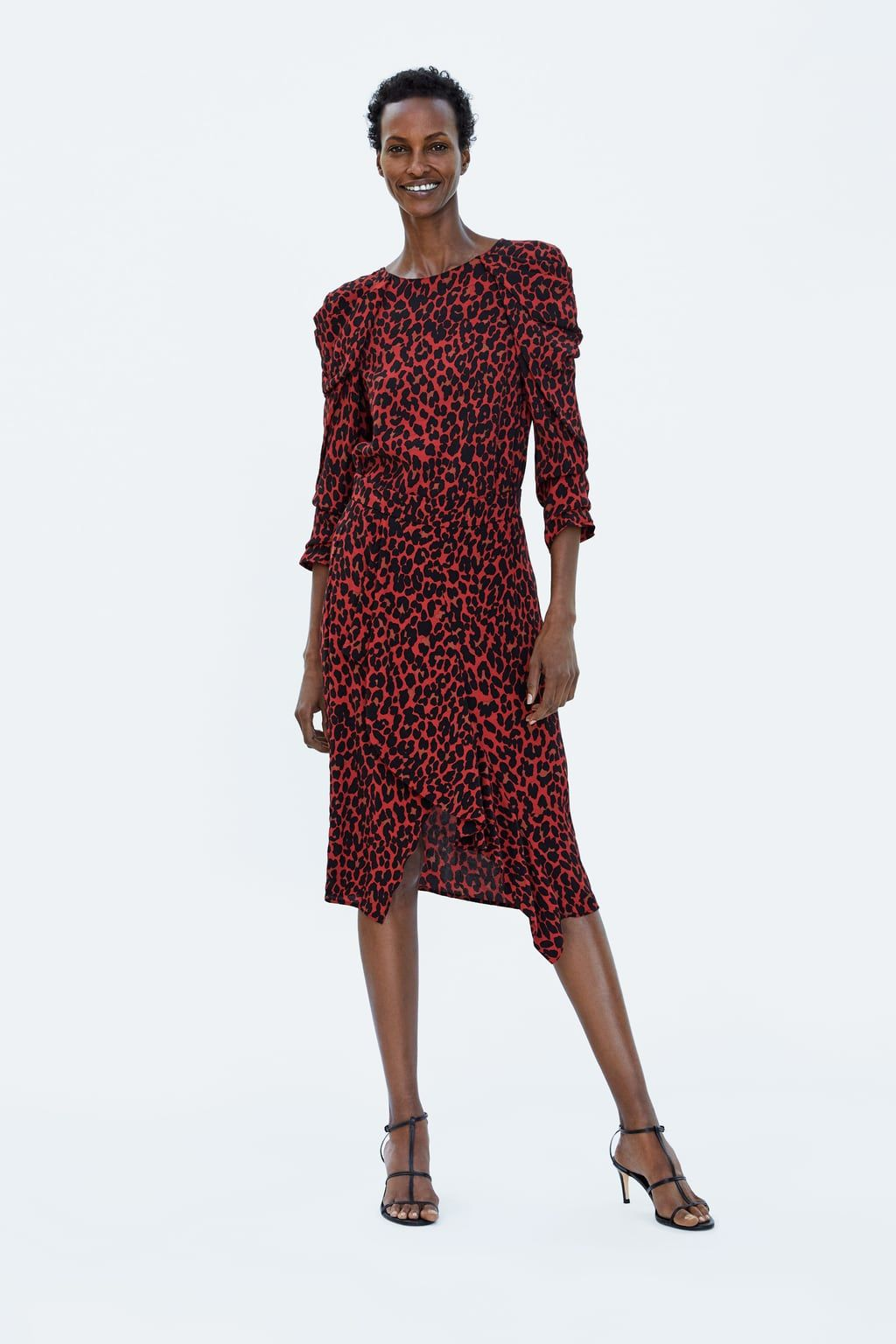 655f829dca FALDA ASIMÉTRICA ESTAMPADO ANIMAL | Zara FW 18 | Animal print skirt ...