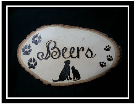 "Custom Sign hand designed, hand drawn, hand wood burned on Bass wood dimensions 12"" long x 7"" wide x 3/4"" thick"