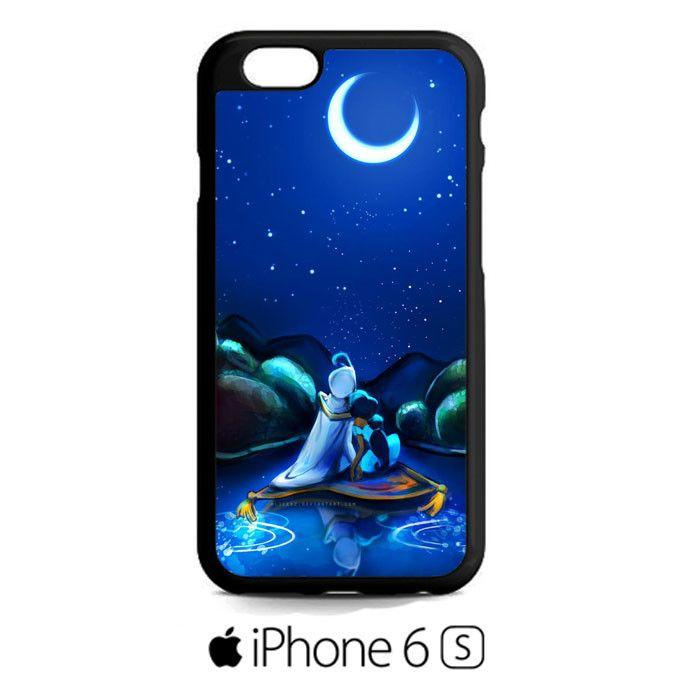 aladin and jasmine boating night scenery iPhone 6S  Case