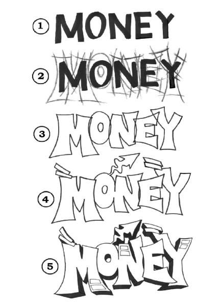 Money Piece Progression - Free Drawing Lesson
