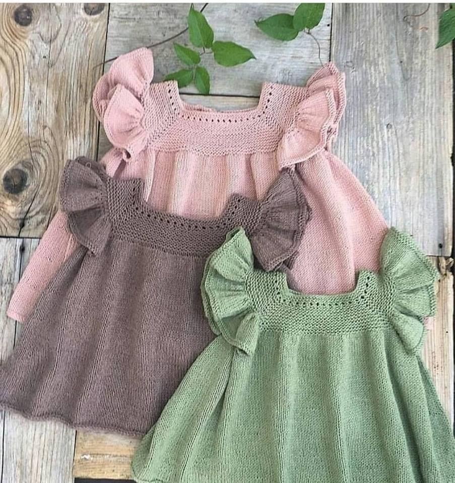 Bebek Orgu Elbise Modelleri Baby Knitting Patterns Bebek Elbise Modelleri Sirin Elbiseler