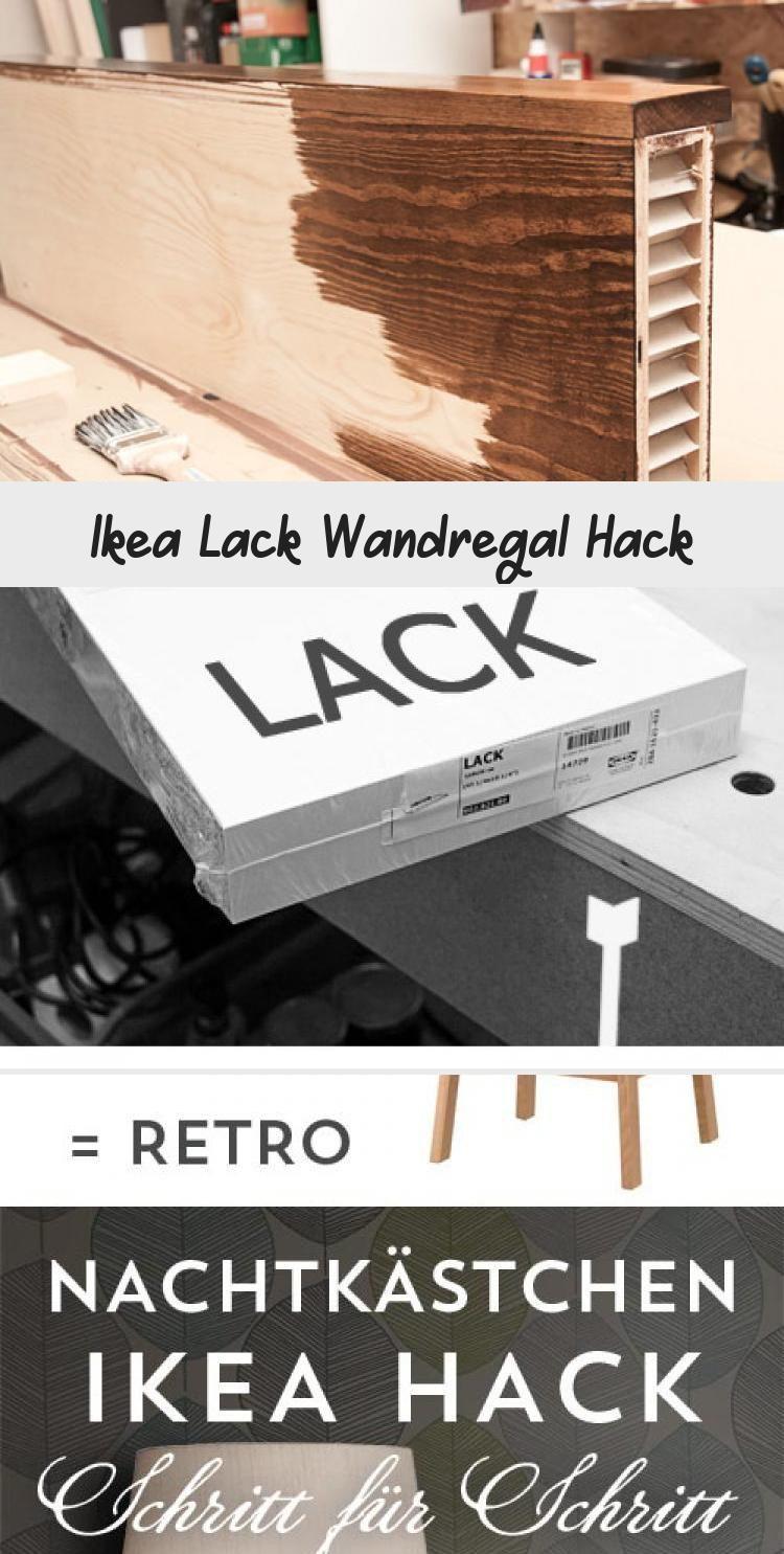 Ikea Lack Wandregal Hack Ikea Lack