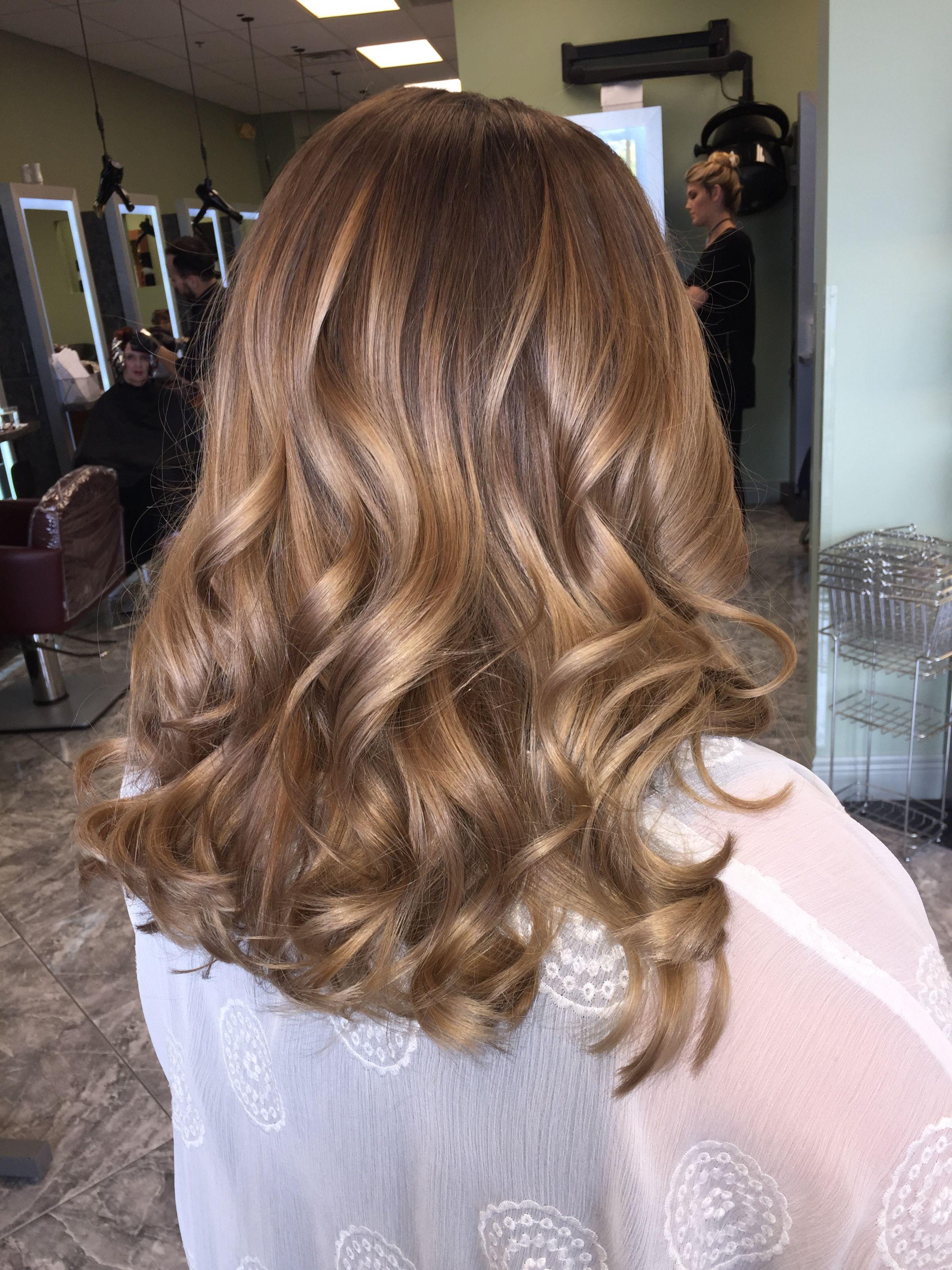Honey blonde balayage #hairbyashcha #balayage #honeyblonde