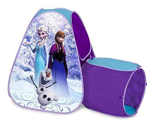 NEW Disney Frozen Hide Tunnel Tent Hut Olaf Anna Tunnel Elsa Princess Snow Queen #Disney  sc 1 st  Pinterest & NEW Disney Frozen Hide Tunnel Tent Hut Olaf Anna Tunnel Elsa ...