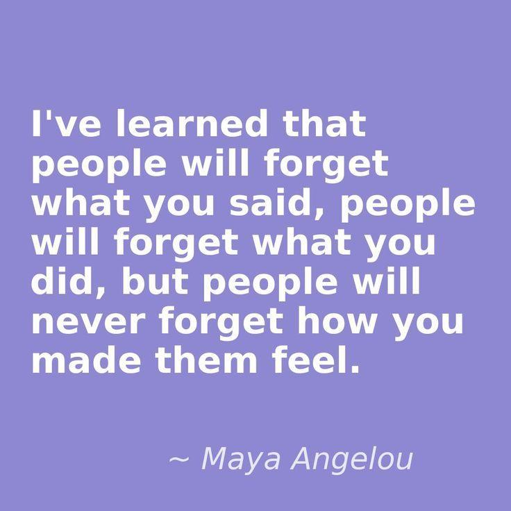 Maya Angelou Quotes Pinterest | Maya Angelou ... How you ...