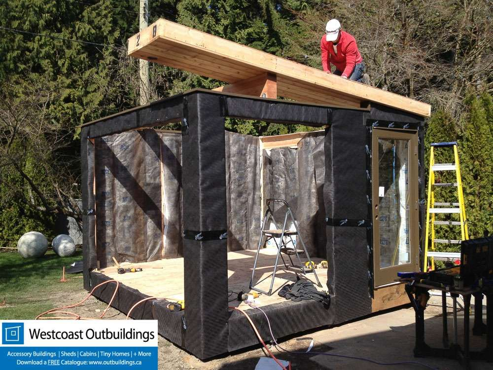 gardens west vancouver workout shed