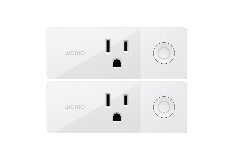 Wemo Mini WiFi Smart Plug 2Pack, WiFi Enabled, Works