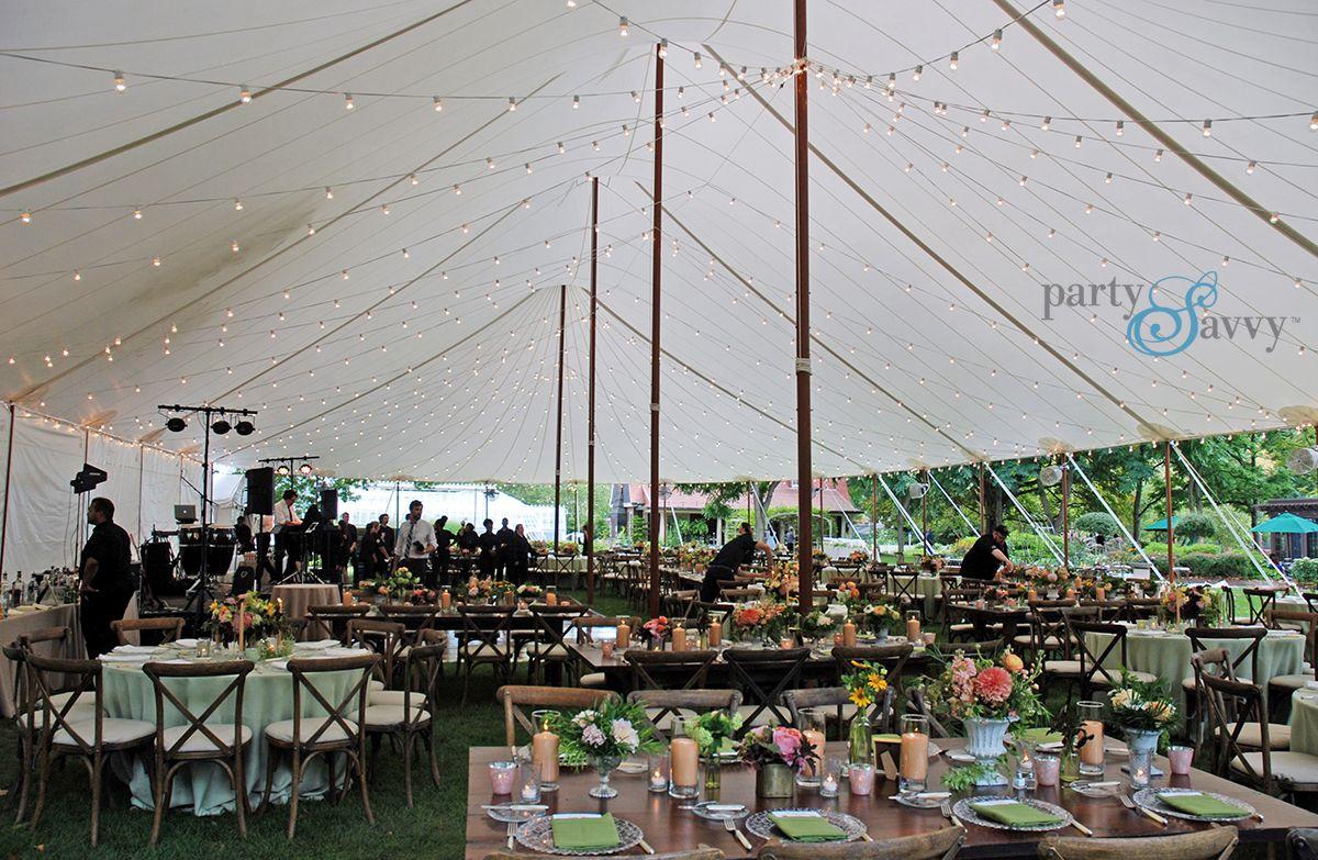 Luxury Tented Wedding Partysavvy Wedding Rentals Pittsburgh Pa Wedding Rentals Outdoor Winter Wedding Event Tent