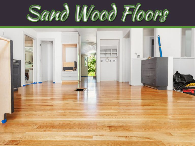 How to sand wood floors with a belt sander sanding wood