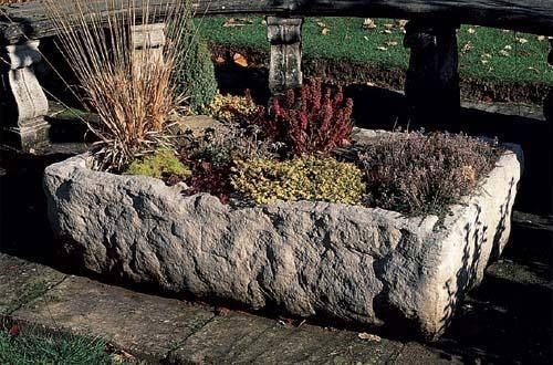 Stone Garden Planters And Troughs Small alpine trough planter trough planters and planters the alpine trough planter is a small rustic and naturalistically shaped haddonstone cast stone planter workwithnaturefo