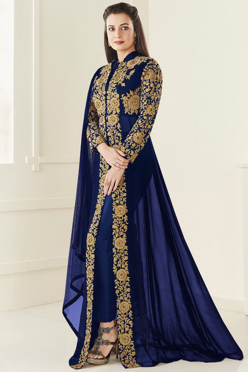 Shopping Online Latest Trendy Indian Indo Western Salwar Kameez Indo  western Suits With Embroidery Work Sequence Work With World Wide Shipping  Offer Price f2d4f1cbc