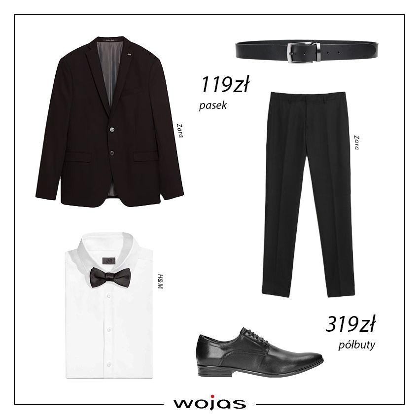 Andrzejki To Okazja Do Swietowania W Bardziej Formalnym Stylu Klasyczny Czarny Garnitur Idealnie Komponuje Sie Z Biala Koszula Wyjsci Suits Pantsuit Fashion