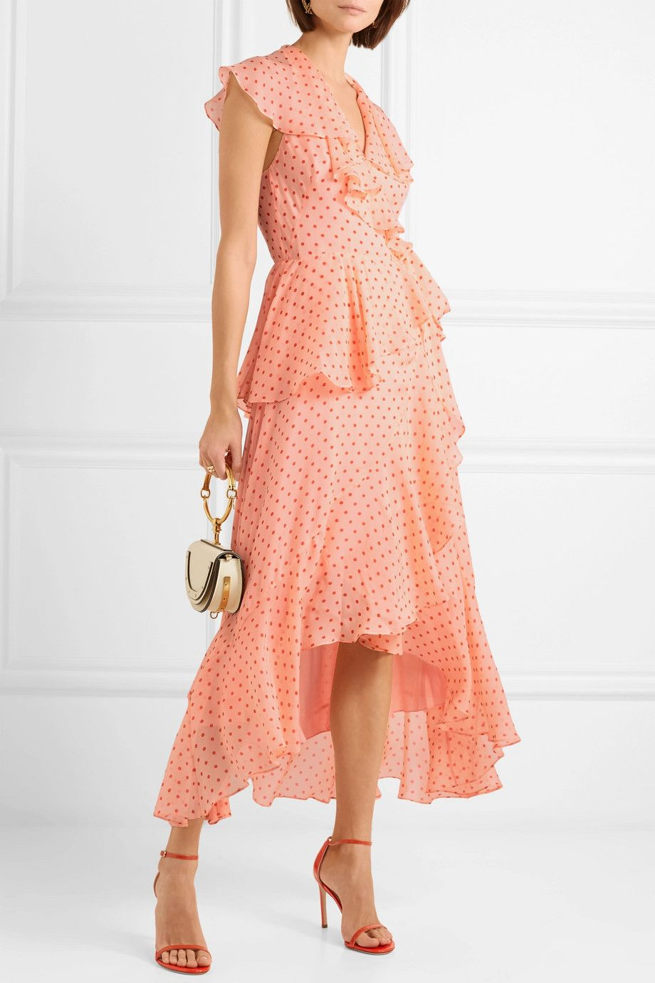 Online Shopping polka dot dress - Pink & Purple Temperley London Outlet Free Shipping Cheap Finishline 1Z4lHH31J2