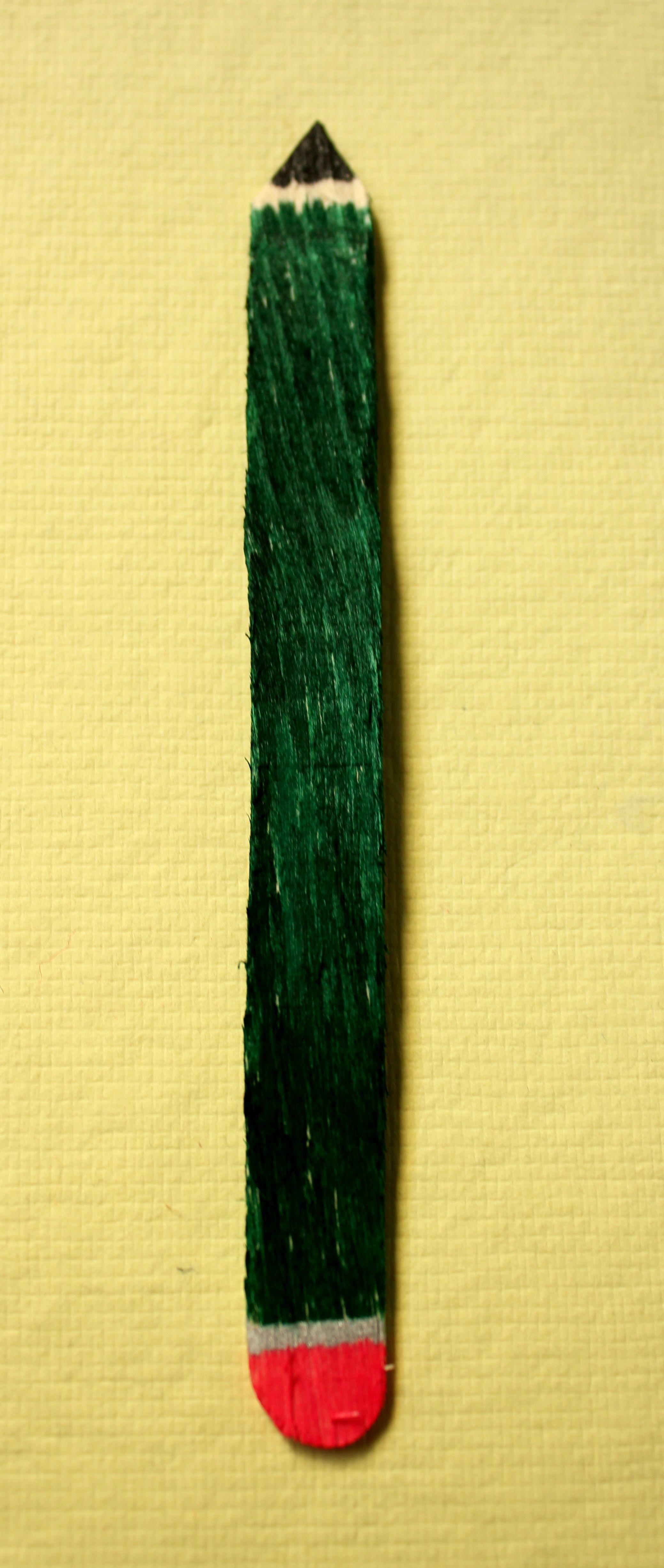 Bookmarks Icecream Sticks Things I Have Made Diy Crochet