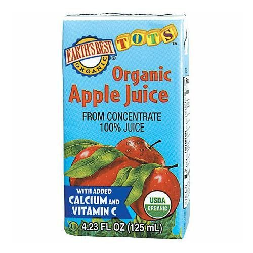 Earth's Best Organic Apple Juice 4 Pack Baby apple