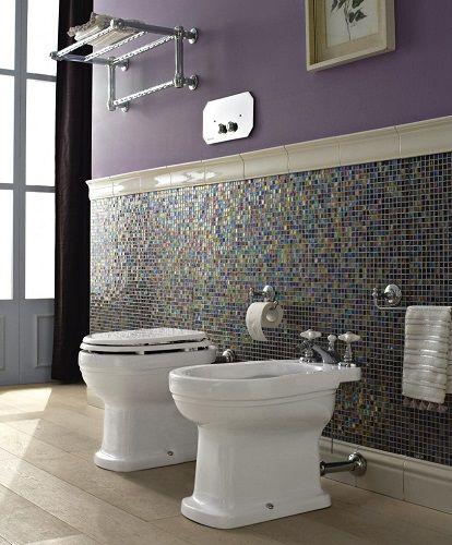 Badkeramik De.Sbordoni Masaccio Toilette Bidet Und Wc Deckel Klassic Im
