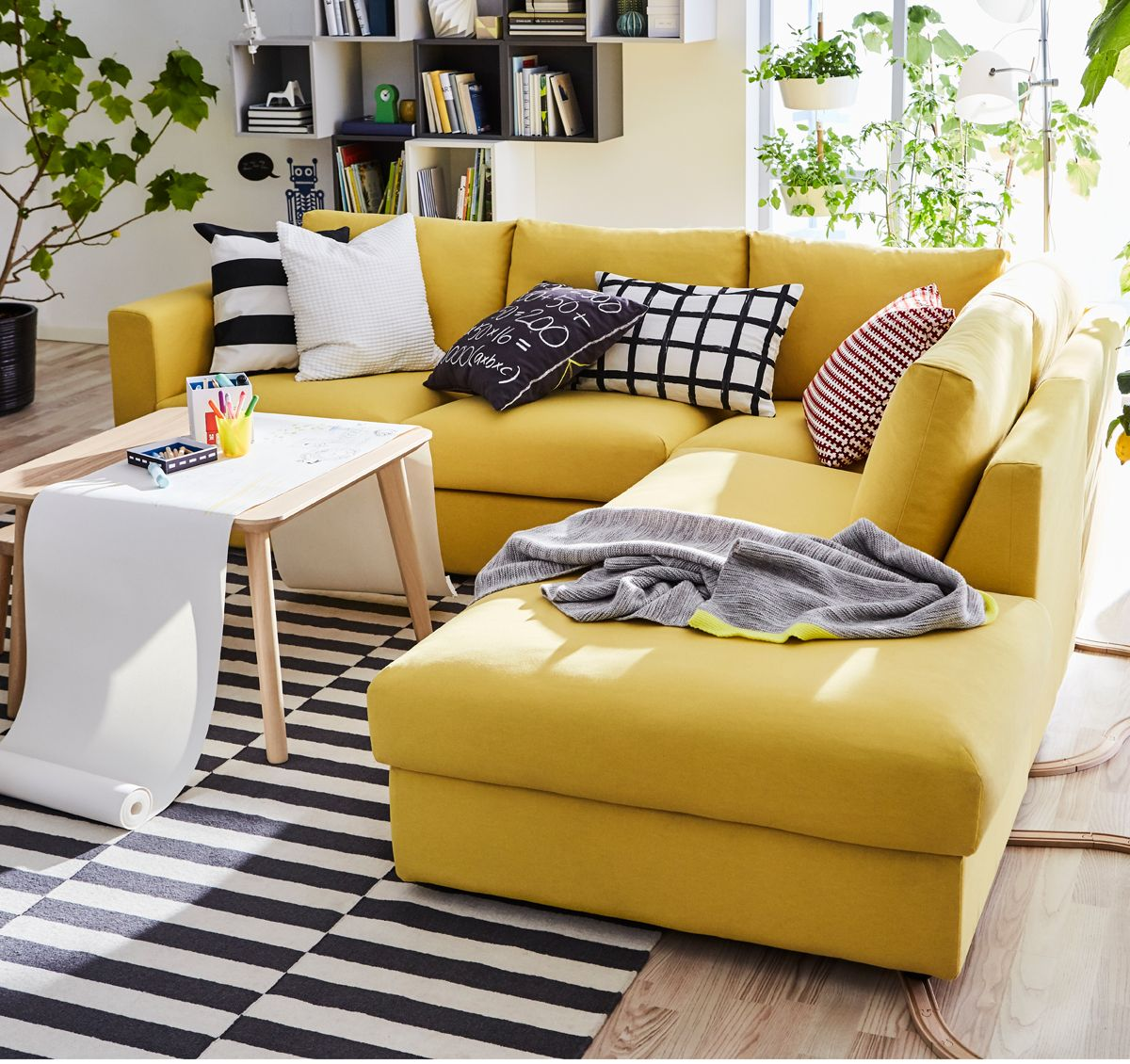 How To Decorate Your Short Term Rental For Cheap Canape Angle Ikea Canape Modulaire Deco Chambre Ikea